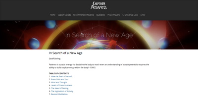 In Search of a New Age Book